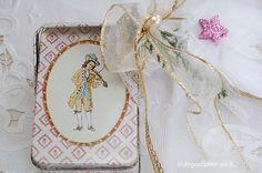 Geschenkverpackungen - Dose Geschenkverpackung Weihnachten - ein Designerstück von Wohngeschichten-von-K- bei DaWanda