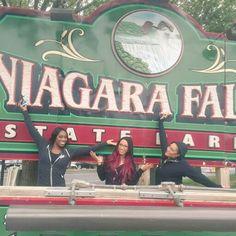 Niagara Fall Naomi Sasha Banks & Tamina Snuka