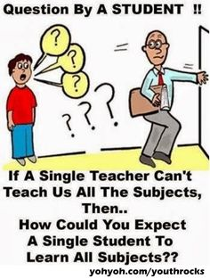 Teacher-Student jokes - question by a student ! if a single teacher can Funny School Jokes, Very Funny Jokes, Crazy Funny Memes, Really Funny Memes, Funny Relatable Memes, Funny Facts, Funny Quotes, School Memes Clean, Funny College