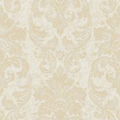 Free Shipping when you buy York Wallcoverings Fresco Damask Wallpaper at Wayfair - Great Deals on all Decor products with the best selection to choose from!