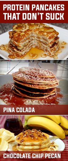 Unfortunately, many of the protein pancake recipes out produce results that taste more like cardboard than the traditional fluffy pancake we know and love. #protein  #pancakes #weightloss #healthy #recipes