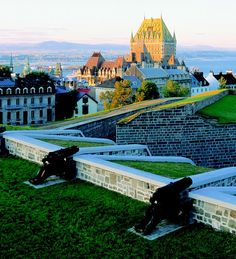Quebec City - While stationed in Maine I took a road trip with Bill Harcarik to Quebec.  Absolutely beautiful city!!  We went during the fall.  Foilage along the St. Lawrence River, the cobblestone streets, the french language.... made for quite a romantic setting.