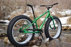 Biking innovation from Alaska: The Fat Bike! http://www.portlandpedalpower.com/blog/?p=3440