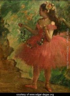 Dancer in Pink - Edgar Degas - www.edgar-degas.org