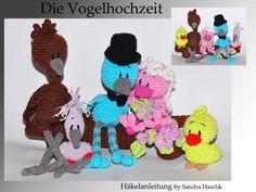 Häkelanleitung, DIY - Die Vogelhochzeit - Ebook, PDF
