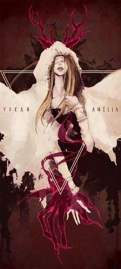 Vicar Amelia, Bloodborne.
