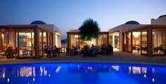 Blue Domes Exclusive Resort & Spa Kos - Mitsis Hotels Greece Resort Spa, Kos, Greece, Places To Go, Hotels, Adventure, Mansions, House Styles, Summer