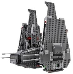 LEGO 75104 Star Wars Kylo Ren's Command Shuttle for sale online Lego Star Wars, Star Wars Toys, Kylo Ren Command Shuttle, Star Wars Kylo Ren, Lego Toys, Building Toys, Willis Tower, Kids Toys, Stars