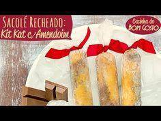 Aprenda a fazer sacolé de Kit Kat recheado com Manteiga de Amendoim