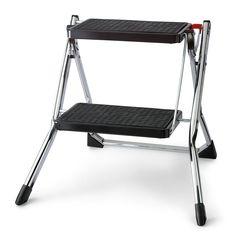 Easy Reach By Gorilla Ladders 2 Step Skinny Mini Stool