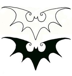 My next tattoo! Perfect blend of Batman/Tim Burton who have always influenced my life. Thinking on my rib cage.