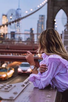 watch for her | new york | beautiful woman | classy watch | gift for her | inspiration | Campus Mesh by Kapten & Son