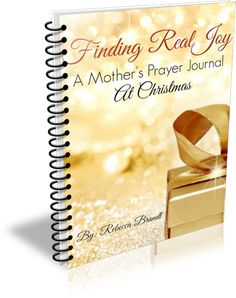 Finding Real Joy at Christmas- free printable download for moms! Beautiful!!