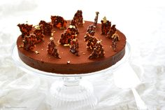 Tarte au chocolat-café - Schokoladentarte mit Café