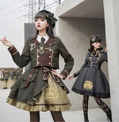 LolitaWardtobe - Bring You the latest Lolita dresses, coats, shoes, bags etc from Trustworthy Taobao indie Brands. We never resell Lolita items from untrustworthy Taobao stores. Kawaii Fashion, Lolita Fashion, Punk Fashion, Old Fashion Dresses, Fashion Outfits, Fashion Boots, Pretty Outfits, Pretty Dresses, Mode Lolita