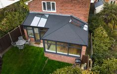 Do you need a replacement roof for your solid conservatory roof or glass conservatory roof? Use our VR tool to explore our replacement conservatory roofs. 1930s House Extension, Conservatory Extension, House Extension Plans, House Extension Design, Extension Ideas, Glass Roof Extension, Porch Extension, Glass Conservatory Roof, Replacement Conservatory Roof