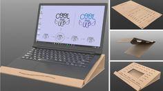 COOL ME UP, soporte de ordenador que le da un respiro a tu portátil.