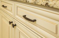 Lindos cabinet pull from Elements by Hardware Resources