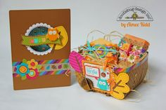 Doodlebug Design Inc Blog: Friendly Forest: Birthday Gift Set by Aimee Kidd.