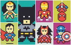 Postit Superheros - Album on Imgur... Also here; https://www.reddit.com/r/pics/comments/310aro/i_got_bored_with_the_drab_walls_at_my_office_so_i/