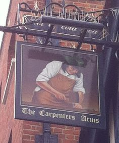 Pub Sign Art a la cARTe: The Carpenters Arms - Windsor, Berkshire