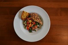 Broccoli Rabe & Cherry Tomatoes with Chicken