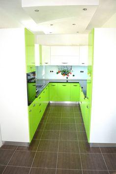 Kitchen Cabinets, Home Decor, Green, Decoration Home, Room Decor, Cabinets, Home Interior Design, Dressers, Home Decoration