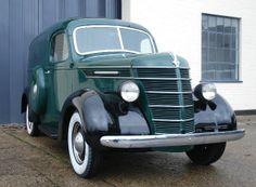 1938 International Series D  Panel Van.