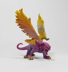 Monster In My Pocket 22 Winged Panther (1) 2nd Gen 2006 RPG D&D Figure