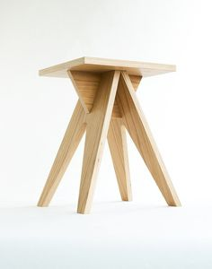 The Stool is made of high-quality birch plywood, coated with veneer. The stool has most prominent features are elegance and durability. It' easy to assemble&disassemble and transport. Hand made item…More Woodworking Furniture, Plywood Furniture, Cool Furniture, Modern Furniture, Furniture Design, Plywood Floors, Futuristic Furniture, Furniture Dolly, Woodworking Projects