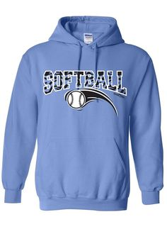 Sports Katz Womens 'Zebra' SOFTBALL Hoodie * Check out this great product.