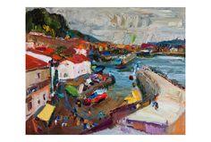 Fine Art Giclee Print  San Sebastian Original Oil Painting