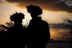 Tahitian ceremony
