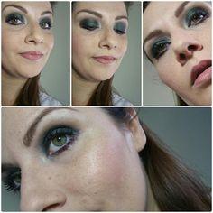 Green makeup!  #picoftheday #makeupoftheday #makeup #makeuppassion #Ilovemakeup #instamakeup #instabeauty #beauty #greeneyes #powerofmakeup #makeupaddict #passionemakeup #green #greenmakeup #nabla#zoe#mulac#toast#sleek #sleekpalette #idivine #shaka #mac#lightscapademineralizeskinfinish