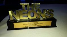 "@Global Advertisers bestowed with ""The Neon"" award  at @exchange4media's annual OOH Award function in Gurgaon, New Delhi for its outstanding contribution to outdoor advertising industry. #OOH2014 #Award"