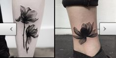 Tattoos.com | X-Ray Flower Tattoos That Will Take Your Breath Away