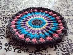 Crochet Hot Pad/Trivet Crocheted Pot Holder Crochet Trivet Kitchen Accessories Home Decor