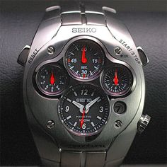 Seiko Sportura is my favorite watch series. They are shouting like a man. On the other hand they don't need a battery at all.