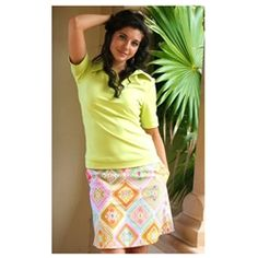New! Rainbow Safari #golf skort - love these colors!