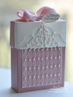 Box of Blessings - amazingpapergrace.com - using Spellbinders Enchanted Labels Twenty Eight