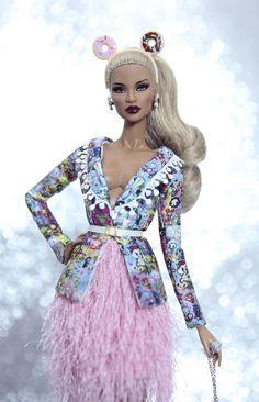 https://flic.kr/p/KR7JSK | Dominique - pink skirt tassels by Rimdoll | www.etsy.com/listing/457573726/tokidokki-suit-for-fashion...