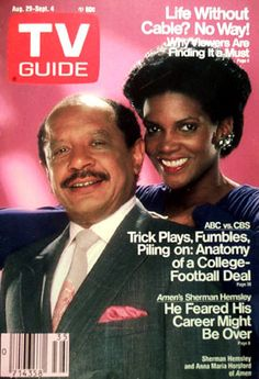 """August Sherman Hemsley and Anna Maria Horsford of """"Amen"""" 80 Tv Shows, Great Tv Shows, Sherman Hemsley, Episode Online, Childhood Days, Comedy Tv, Tv Episodes, Tv Guide, Old Tv"""