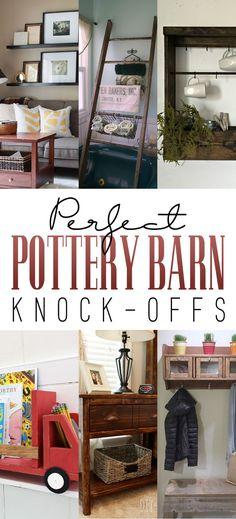 Pottery Barn Hacks