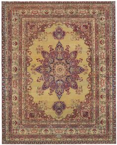 Kermanshah Seldom-found antique Persian carpets of the great age of 150 years old or more can exhibit an elevated level of artistry and sublime color hues not to be seen in later pieces.