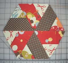 TRIANGLES  love this quilt block