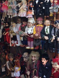 Marionetas en Praga, República Checa