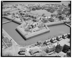 Aerial View - Fort Monroe National Monument