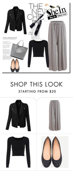 """""""SheIn 1/IX"""" by nermina-okanovic ❤ liked on Polyvore featuring LE3NO and shein"""