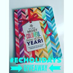 Have you seen the newest item from Erin Condren? These gift wrap books are amazing && guess what? I have one to give you  Rules: 1. You MUST like this picture  2. You MUST follow me and @erincondren  3. Repost this picture using #ECholidays and tag me in the picture 4. Extra entry of you tag 3 friends below  Giveaway will close tomorrow at 2 pm EST! Winner will be randomly selected. Good luck