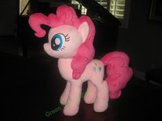 Pinkie Pie Plush commission by GreenTeaCreations on DeviantArt